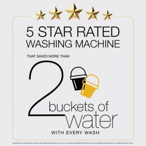 Whirlpool Whitemagic elite Washing machine 5 Star Rating