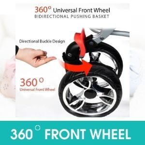 360 DEGREE FRONT WHEEL