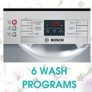 6 WASH PROGRAMS