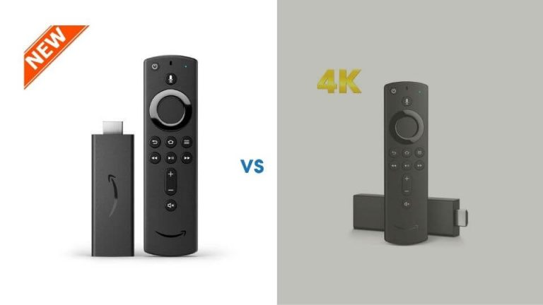 Amazon Fire TV Stick 2020 vs Amazon Fire TV 4K