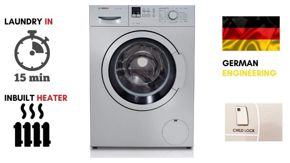 Best Front Load Washing machine Bosch 7 kg Fully-Automatic Front Loading Washing Machine