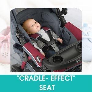 CRADLE-EFFECT SEAT