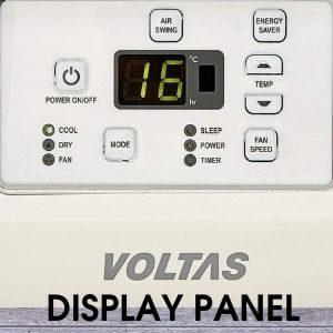 Voltas Display Panel
