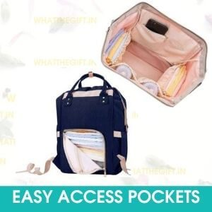 EASY ACCESS POCKETS