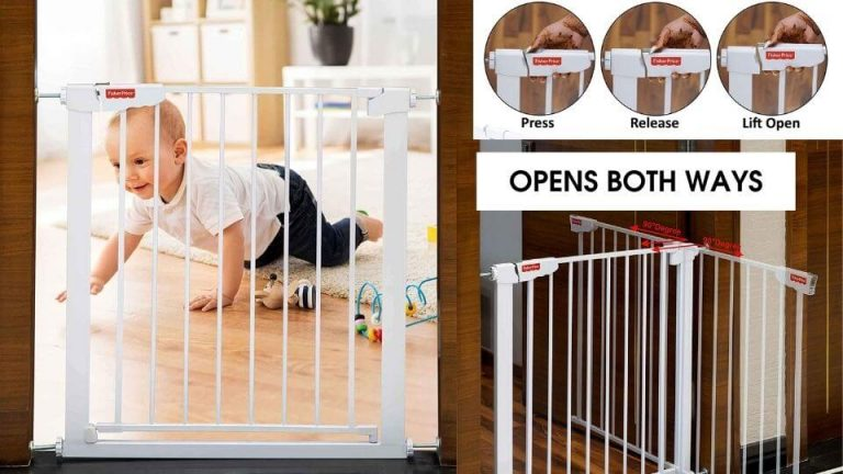 Childproofing and baby proof products- Fisher price gate