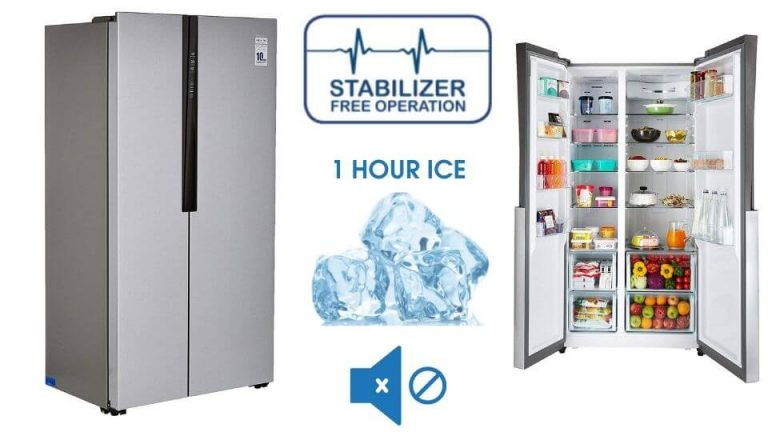 Haier 565 L Inverter Frost-Free Side-By-Side Refrigerator