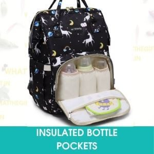 INSULATED BOTTLE POCKETS