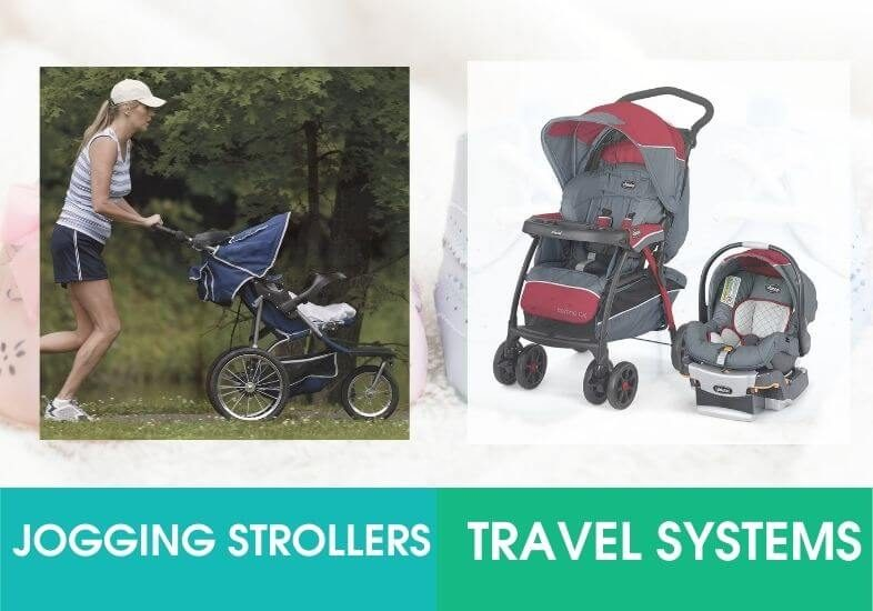 Jogging Strollers and Travel System