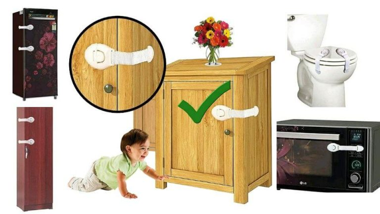 Childproofing and baby proof products- Furniture Safety Locks for babies