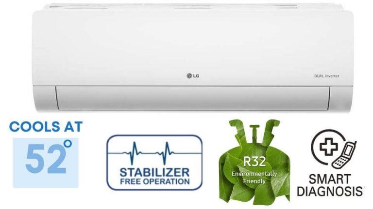 LG 1.5 Ton 5 Star Split Dual Inverter AC