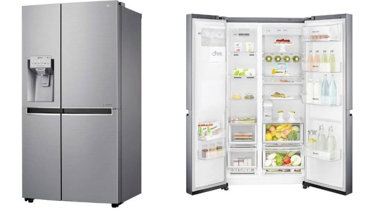 LG 668 L Frost Free Side-by-Side Refrigerator