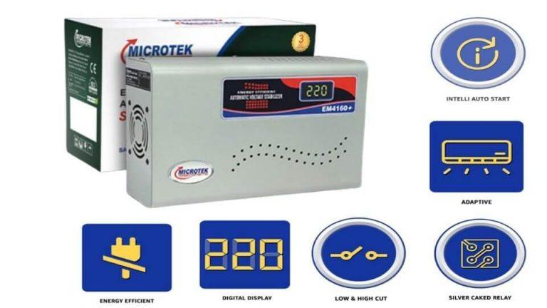Microtek-EM4160+ AC Stabilizer