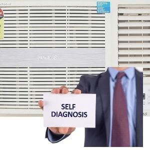 VOLTAS SELF DIAGNOSIS