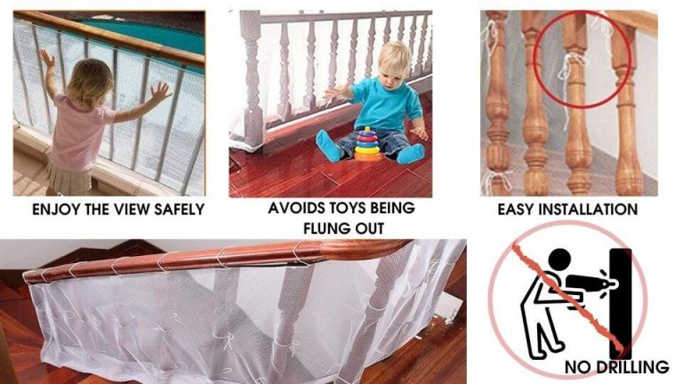Childproofing and baby proof products- Baby Fall Prevention Safety Net