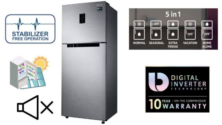 Samsung 324 L Frost Free Double Door Convertible Refrigerator
