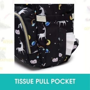 TISSUE PULL POCKET