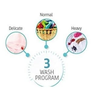 Three Wash Program