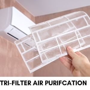 Tri-Filter Air Purifcation