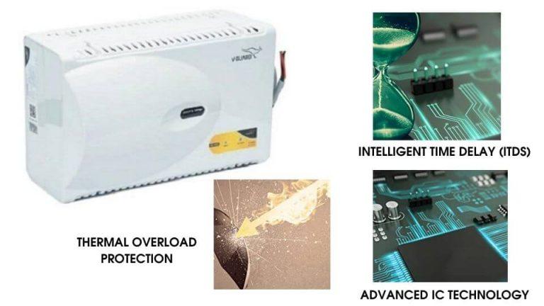 V-Guard VG 400 Voltage Stabilizer