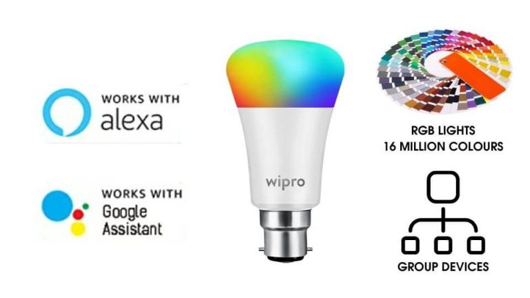 Wipro wi-fi smart led bulb