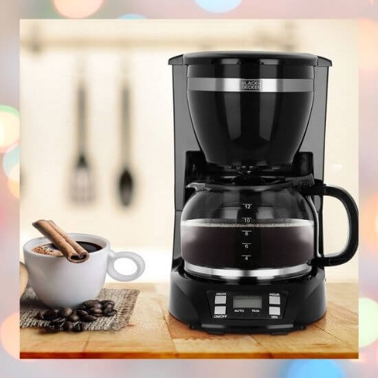 12-Cup Drip Coffee Maker