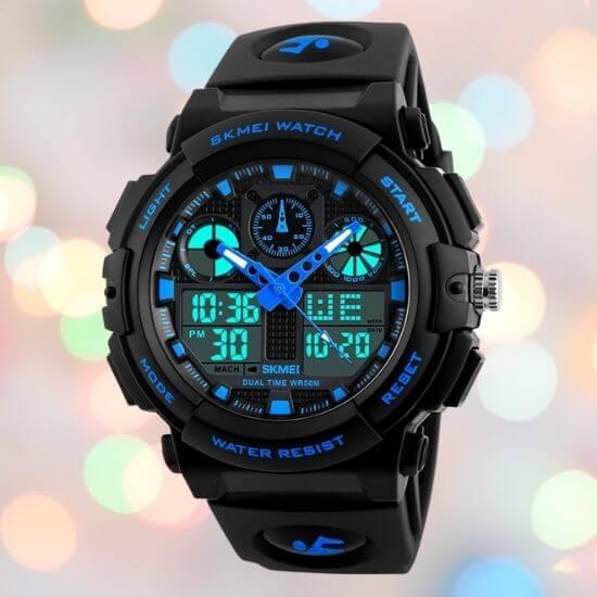 Gifts for Boys - Analog-Digital Blue Dial Boys' Watch