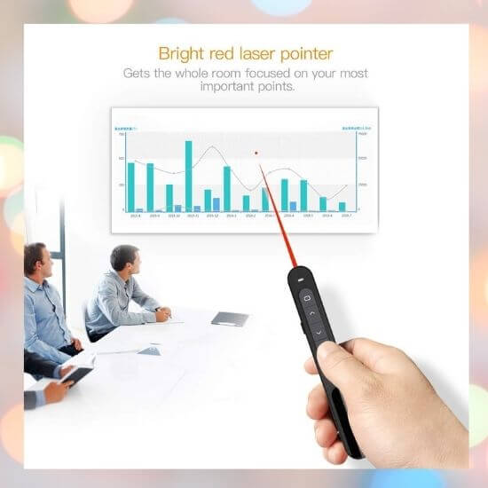 Best Gadgets under 500 Rs - Wireless Powerpoint Clicker for Presentations