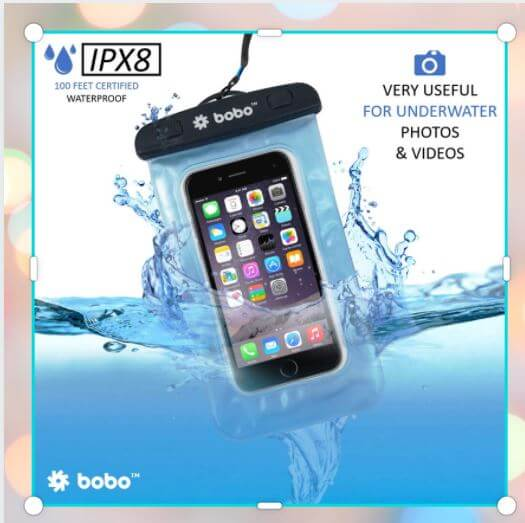 Best Gadgets under 500 Rupees - Waterproof Pouch for Cellphone