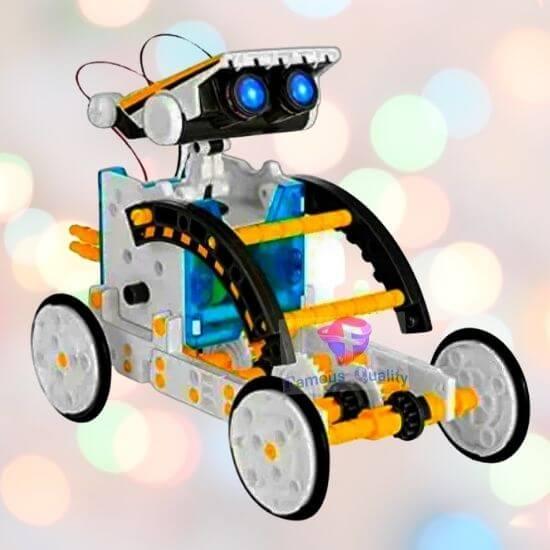 Best Gifts for Children - 14 in 1 Solar Robot Kit Toys