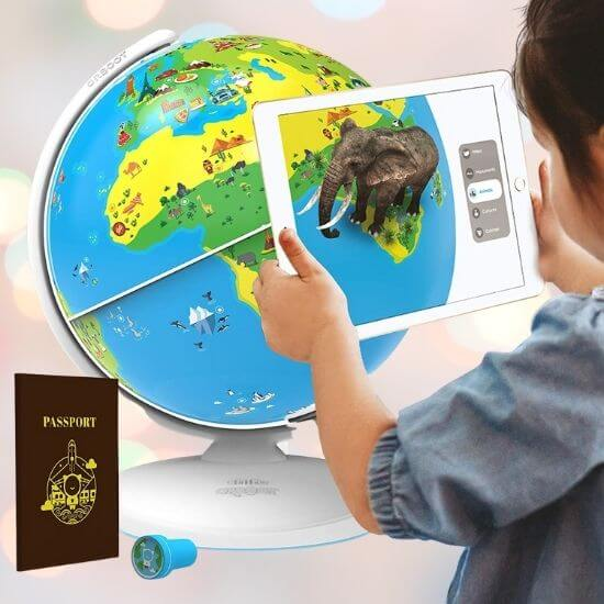 Best Gifts for Children - Augmented Reality Based Globe
