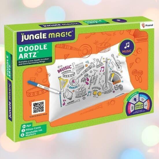 Best Gifts for Children - Jungle Magic Doodle Artz