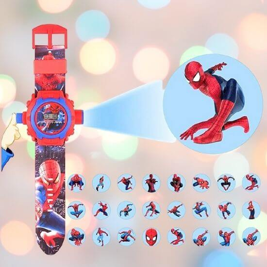 Best Gifts for Kids - Spiderman Projector Watch for Kids