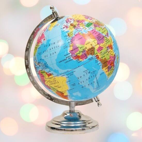 Best Gifts for Kids - World Map Globe