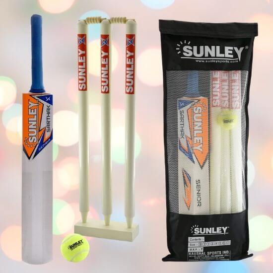 Gifts for Boys - Wooden Cricket Kit Combo