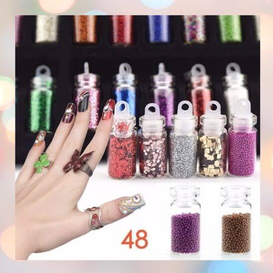 Gifts for Girls - Nail Art Glitter Set