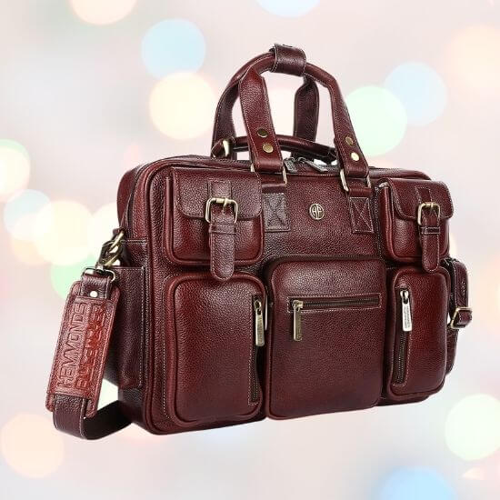 Gifts for Him - Leather Laptop Bag