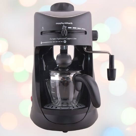 Gifts for Him - Morphy Richards Capuccino Coffee maker