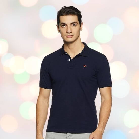 Gifts for Men - Allen Solly Men's Polo T-Shirt