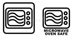 Microwave safe symbol