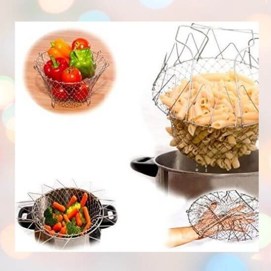 Multifunction Deep Fry Basket