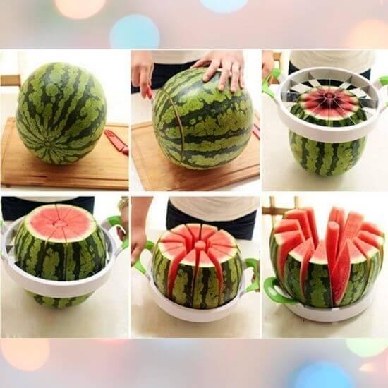 Useful Kitchen Gadgets - Multipurpose Fruit and Bread Slicer