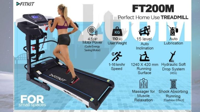 Fitkit FT200 Series 2.25HP Motorized Treadmill