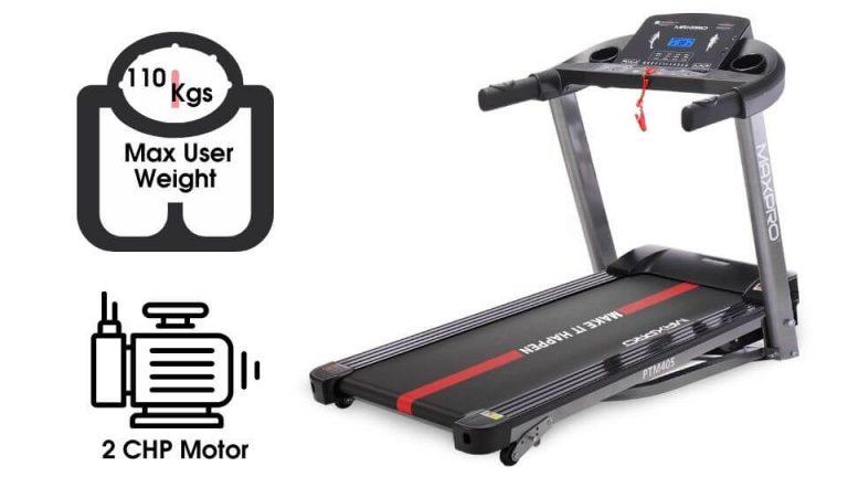 MAXPRO PTM405 2HP (4 HP Peak) Treadmill
