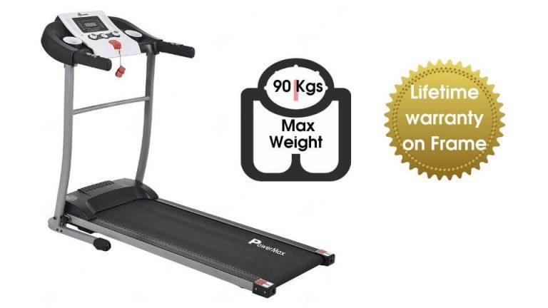 PowerMax Fitness TDM-98 1.75HP Motorized Treadmill