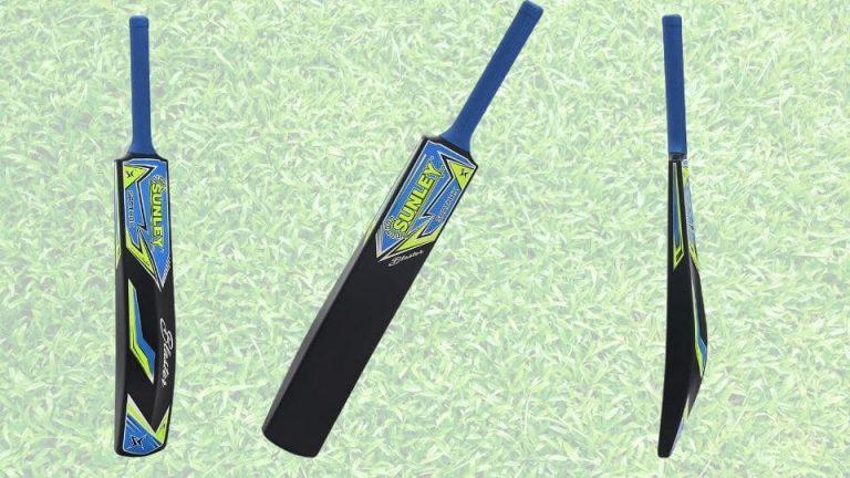 SUNLEY Sarthak Men's Hard Plastic Alloy Cricket Bat
