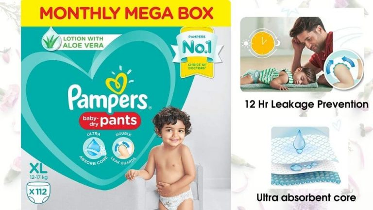 Pampers all round protection xl xxl size