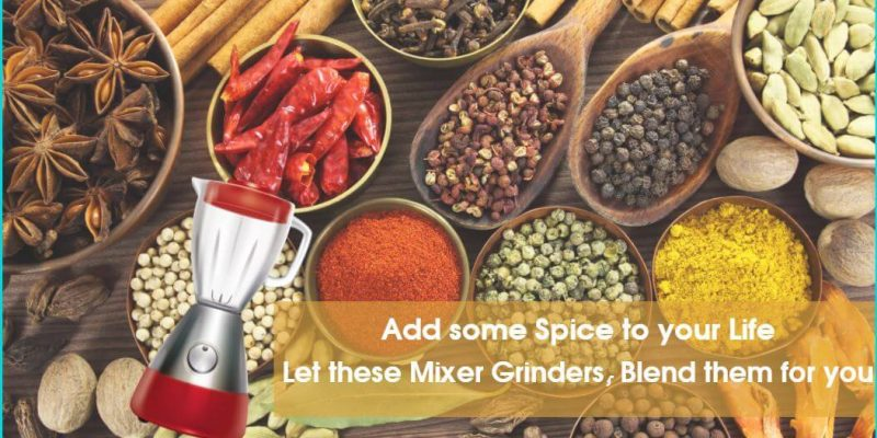 Top 5 Best Mixer Grinders in India – Reviews, Buying Guide and Price Comparison